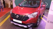 Renault Lodgy World Edition front three quarters at Autocar Performance Show 2017