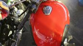 Royal Enfield Classic 350 Redditch series Redditch Red fuel tank top view