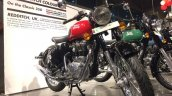Royal Enfield Classic 350 Redditch series red front three quarter