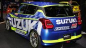 Suzuki Swift Racer RS rear three quarters at 2017 Tokyo Auto Salon