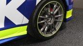 Suzuki Swift Racer RS wheel at 2017 Tokyo Auto Salon