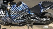 TVS Akula 310 spy shot side