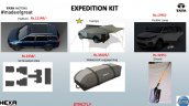 Tata Hexa Expedition accessories list