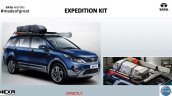 Tata Hexa Expedition kit accessories list