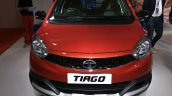 Tata Tiago with body kit front at Autocar Performance Show 2017