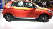Tata Tiago with body kit profile at Autocar Performance Show 2017