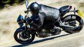Triumph Street Triple R Jet Black motion side