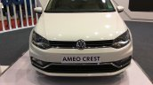 VW Ameo Crest front at Autocar Performance Show 2017