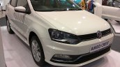 VW Ameo Crest front three quarters at Autocar Performance Show 2017
