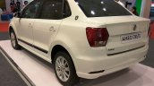 VW Ameo Crest rear three quarters at Autocar Performance Show 2017
