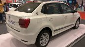 VW Ameo Crest rear three quarters right side at Autocar Performance Show 2017
