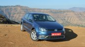 VW Ameo TDI DSG (AT) front quarter Review