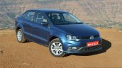 VW Ameo TDI DSG (AT) front three quarter Review