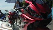 Yamaha R15 v3.0 matte red front nose