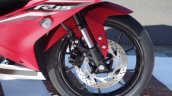Yamaha R15 v3.0 matte red front wheel