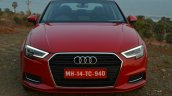 2017 Audi A3 sedan (facelift) front First Drive Review