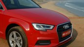2017 Audi A3 sedan (facelift) front end First Drive Review