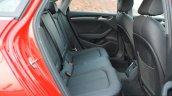 2017 Audi A3 sedan (facelift) rear cabin First Drive Review
