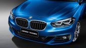 2017 BMW 1 Series Sedan front fascia