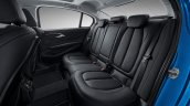 2017 BMW 1 Series Sedan rear seats