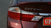 2017 Honda City ZX (facelift) badge First Drive Review