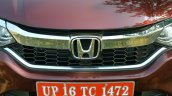 2017 Honda City ZX (facelift) grille First Drive Review