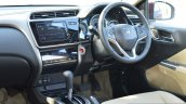 2017 Honda City ZX (facelift) interior First Drive Review