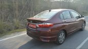 2017 Honda City ZX (facelift) rear three quarter dynamic First Drive Review