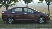 2017 Honda City ZX (facelift) side First Drive Review