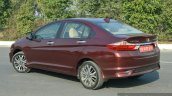 2017 Honda City ZX (facelift) side left First Drive Review