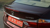 2017 Honda City ZX (facelift) spoiler First Drive Review