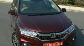 2017 Honda City ZX (facelift) top view First Drive Review