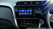 2017 Honda City (facelift) centre console
