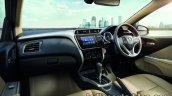 2017 Honda City (facelift) dashboard