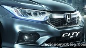2017 Honda City (facelift) front fascia
