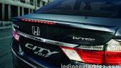 2017 Honda City (facelift) rear fascia press image