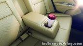 2017 Honda City (facelift) rear-seat armrest bottle holder