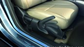 2017 Honda City (facelift) seat adjustment