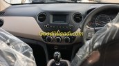 2017 Hyundai Grand i10 (facelift) dashboard spied