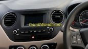 2017 Hyundai Grand i10 (facelift) touchscreen spied