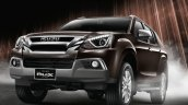 2017 Isuzu MU-X front three quarter Thailand press image