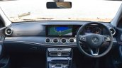 2017 Mercedes E Class (LWB) dashboard First Drive Review