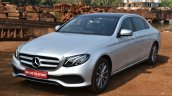 2017 Mercedes E Class (LWB) front quarter left First Drive Review