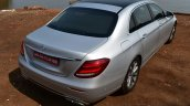 2017 Mercedes E Class (LWB) rear up First Drive Review