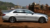 2017 Mercedes E Class (LWB) side First Drive Review