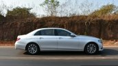 2017 Mercedes E Class (LWB) side dynamic First Drive Review