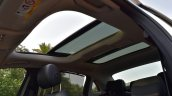 2017 Mercedes E Class (LWB) sunroof inside First Drive Review