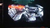 2017 Mitsubishi Grand Lancer cabin leaked image