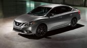 2017 Nissan Sentra SR Midnight Edition front three quarters