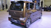 2017 Suzuki Wagon R Stingray Hybrid T rear three quarters